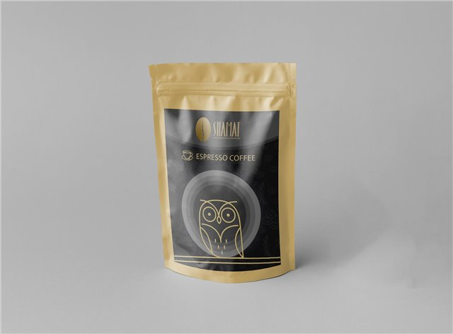 بسته  250 گرمی قهوه اسپرسو